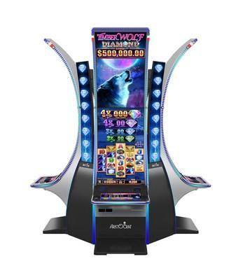 Aristocrat Technologies, Inc.'s new Timber Wolf Diamond™ slot game makes its world premiere January 28 at Mohegan Sun. Timber Wolf Diamond is an all-new version of the player-favorite Timber Wolf™ from Aristocrat Gaming™ and is the latest evolution of one of the industry's top performing games, Buffalo Diamond™. Timber Wolf is housed in Aristocrat's all-new and groundbreaking Neptune Double™ cabinet.