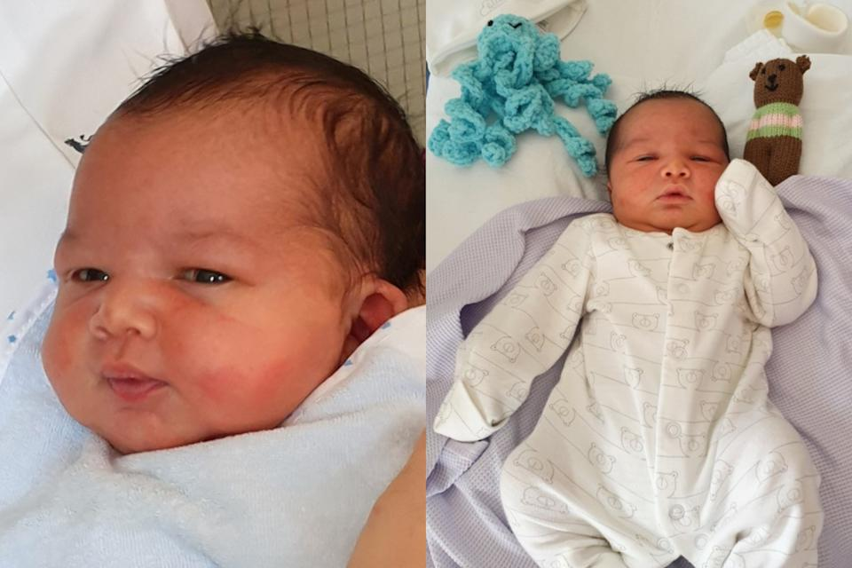 Baby George was found the day before St George's Day. (West Midlands Police)