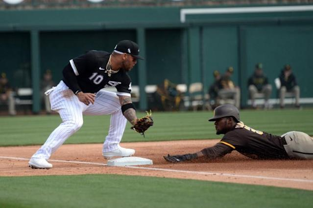 MLB: Spring Training-San Diego Padres at Chicago White Sox