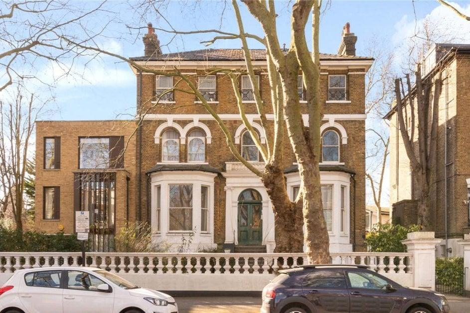£600,000: a recently-reduced two-bedroom flat for sale in a Victorian house in Highbury New Park (Chestertons)