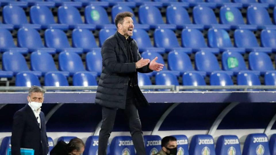 Diego Pablo Simeone, Atletico Madrid   Soccrates Images/Getty Images