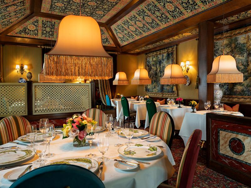 The dining room at The Inn at Little Washington | Courtesy of The Inn at Little Washington