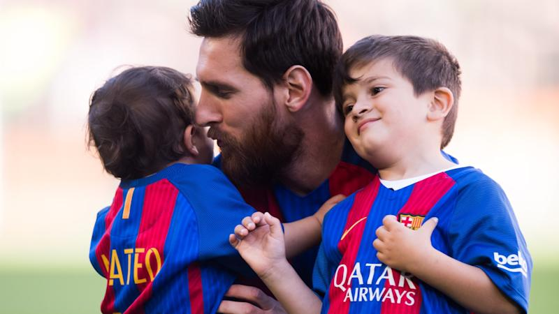 Barcelona superstar Messi reveals name of third child