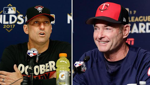 Torey Lovullo and Paul Molitor won the 2017 Manager of the Year awards. (AP)