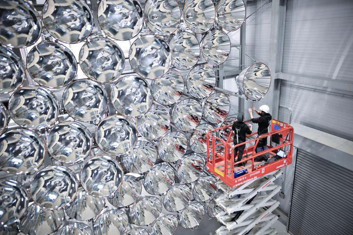 Scorching heat from this 'artificial sun' could help fight climate change