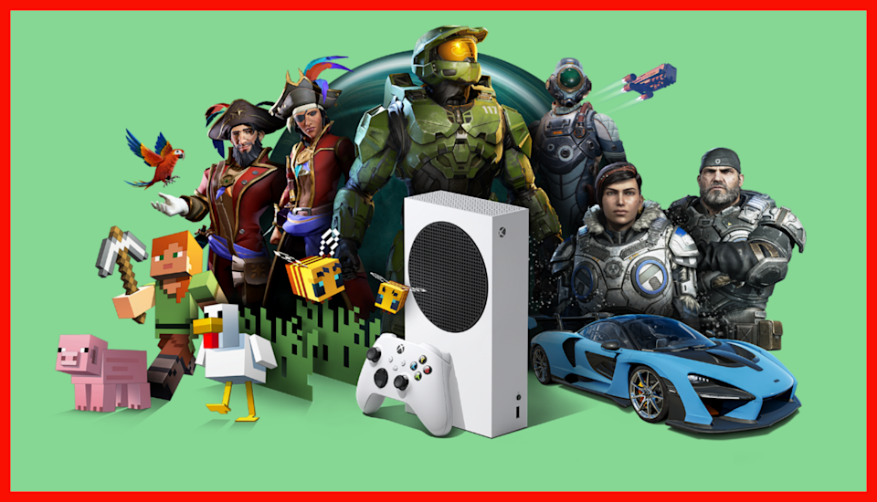 This gaming gang's all here, along with a bonanza of extras. (Photo: Microsoft)