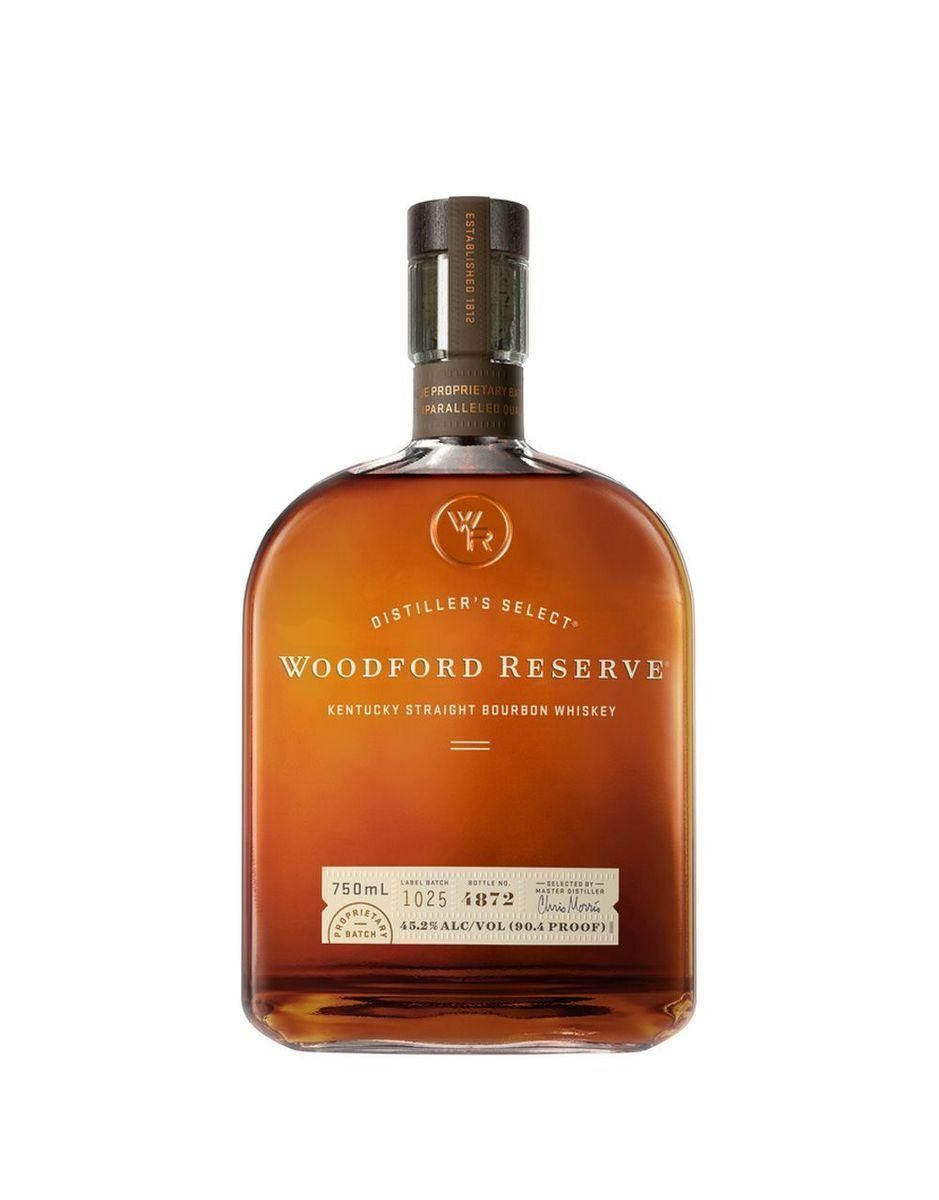 """<p><strong>Woodford Reserve</strong></p><p>reservebar.com</p><p><strong>$42.00</strong></p><p><a href=""""https://go.redirectingat.com?id=74968X1596630&url=https%3A%2F%2Fwww.reservebar.com%2Fproducts%2Fwoodford-reserve-distillers-select&sref=https%3A%2F%2Fwww.oprahmag.com%2Flife%2Frelationships-love%2Fg26825396%2Fgifts-for-dad%2F"""" rel=""""nofollow noopener"""" target=""""_blank"""" data-ylk=""""slk:Shop Now"""" class=""""link rapid-noclick-resp"""">Shop Now</a></p><p>And while you're at it, refill his bar cart—with exactly what he'll pour into that whiskey mug. </p>"""