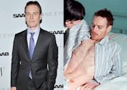 <p>Fassbender dropped 16kgs (2 and half stone) from his already slender frame to play hunger striking IRA man Bobby Sands in Steve McQueen's acclaimed drama. He did in 10 weeks over Christmas and New Year in LA taking long walks, doing a Jerry Hall yoga DVD, and eating a tin of sardines a night.</p>