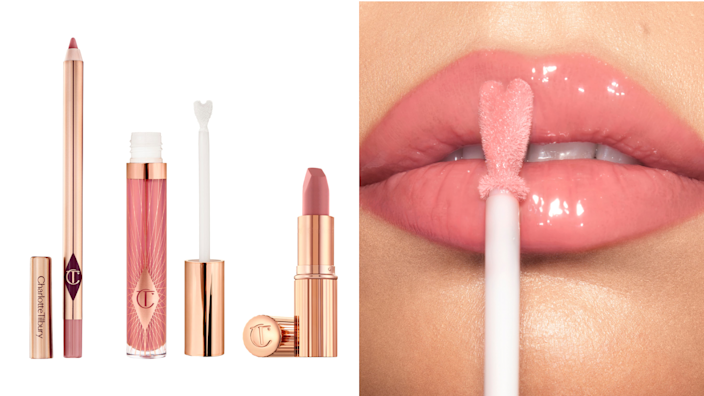 Perfect your pout.