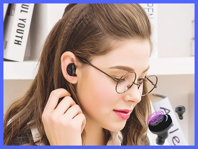 Edyell Wireless Earbuds are on sale for nearly 29 percent off. (Photo: Amazon)
