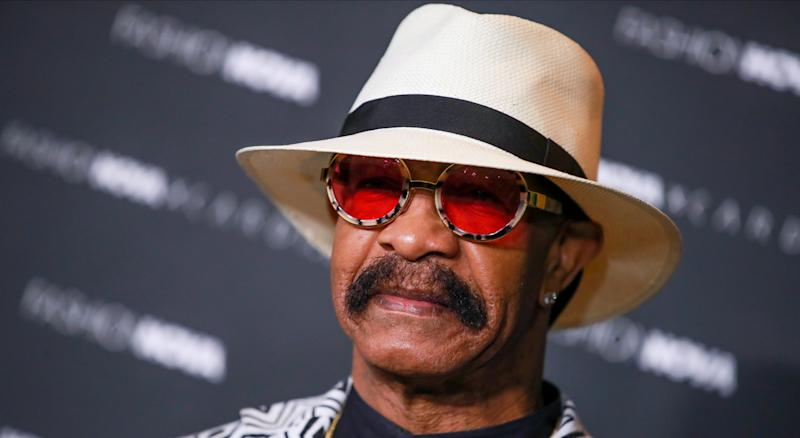 Drake's dad, Dennis Graham, revealed that he bet $100,000 on the Toronto Raptors in their series against the Golden State Warriors. (Photo by Rich Fury/Getty Images)