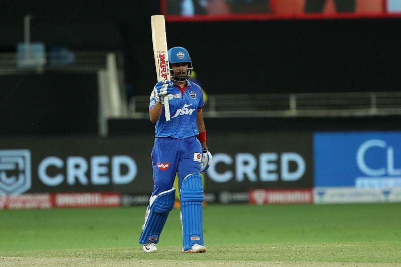 Prithvi Shaw registered his first fifty of IPL 2020 [PC: iplt20.com]