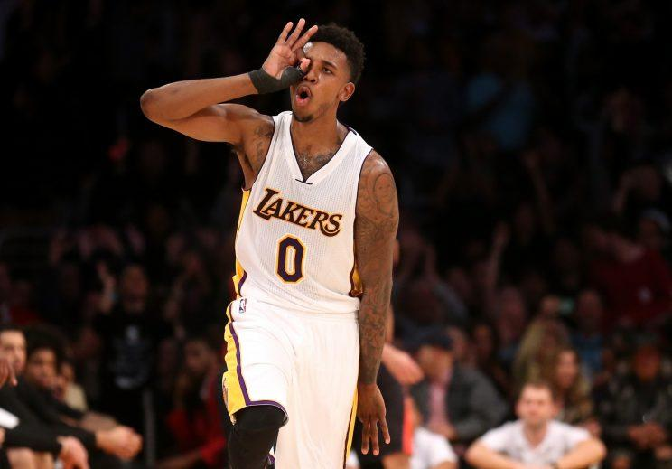 Nick Young is ready to fire to his heart's content in Oakland. (Getty)