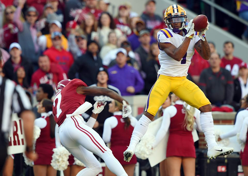 Former LSU receiver Ja'Marr Chase opted out of the season due to coronavirus concerns.