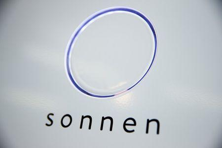 "A lithium battery unit of the startup ""sonnen"", formerly known as Sonnenbatterie, is seen in Berlin"