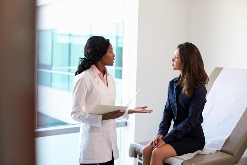 """<span>Sure, everyone's breasts swell up a little during their time of the month. But if you your swelling is unexplained, is only on one side, or only affects part of the breast, the change in appearance could be a subtle sign of breast cancer, says the </span><a href=""""https://www.cancer.org/cancer/breast-cancer/about/breast-cancer-signs-and-symptoms.html"""" rel=""""nofollow noopener"""" target=""""_blank"""" data-ylk=""""slk:American Cancer Society"""" class=""""link rapid-noclick-resp""""><span>American Cancer Society</span></a><span>.</span>"""