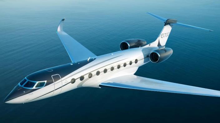 Aircraft manufacturers like Gulfstream are now routinely using SAF in testing new aircraft like the G700. - Credit: Courtesy Gulfstream