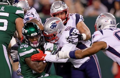 Patriots blitz Jets, gain more confidence with Browns next