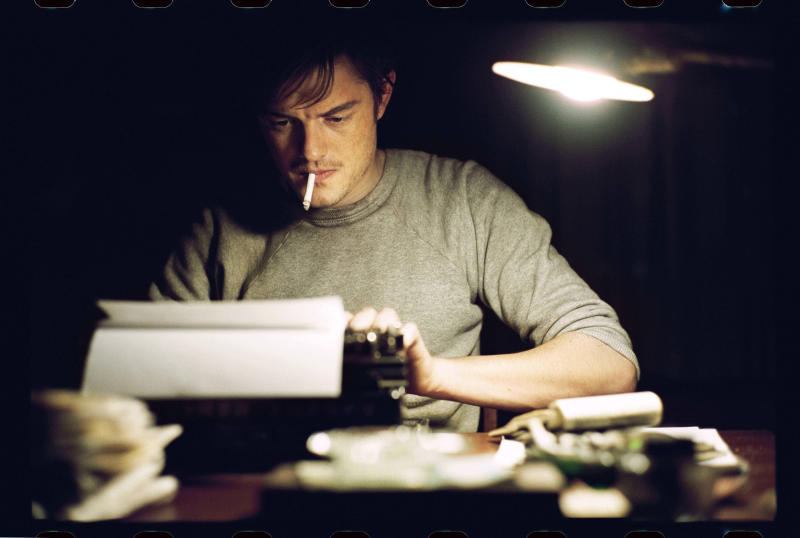 """This undated publicity film image released by IFC Films/Sundance Selects shows Sam Riley as Sal Paradise/Jack Kerouac in a scene from the film, """"On the Road,"""" directed by Walter Salles. (AP Photo/IFC Films/Sundance Selects, Gregory Smith)"""