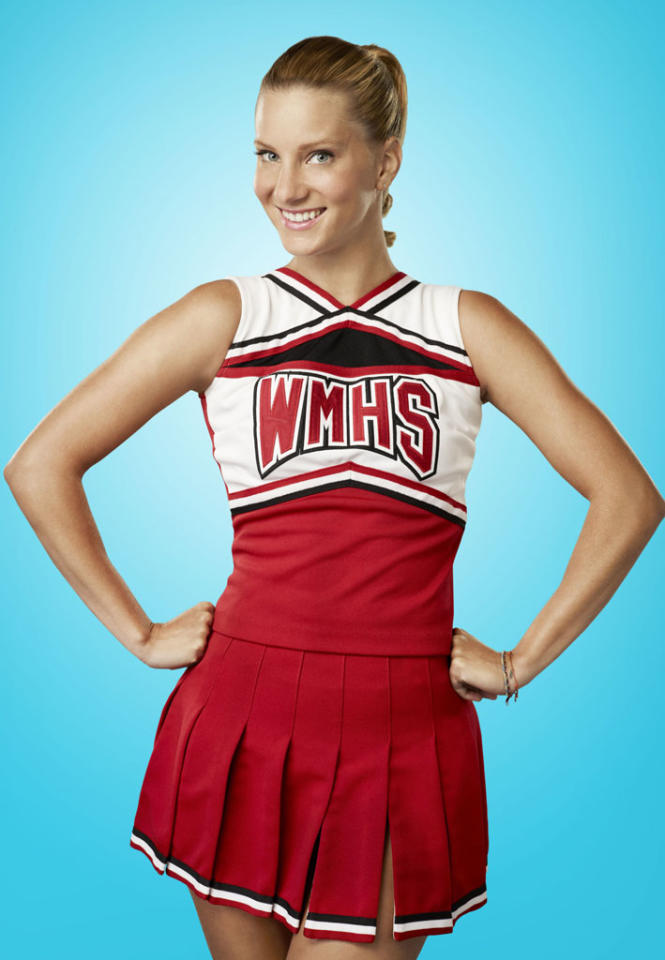 """Heather Morris as Brittany in """"Glee."""""""