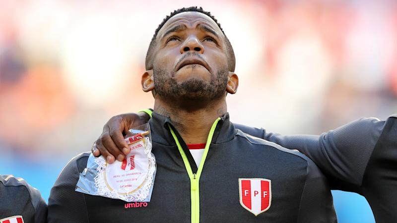 8a979e685 Peru s Jefferson Farfán ruled out of Socceroos clash after shocking injury
