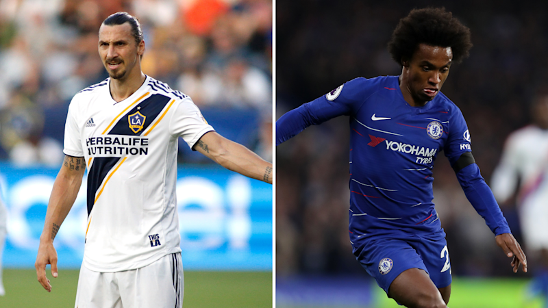 Zlatan Ibrahimovic and Willian could soon be on the