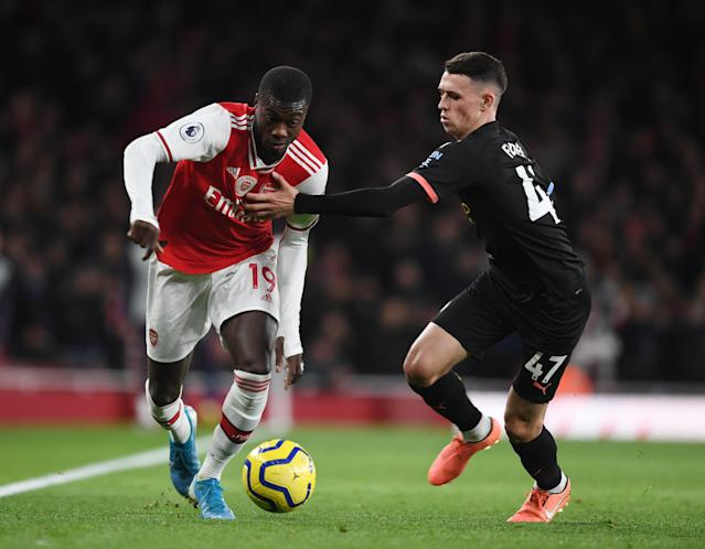Manchester City's Premier League match against Arsenal on March 11 has been postponed because players from the London club have had contact with the owner of Greek side Olympiakos Piraeus, who has contracted the coronavirus.