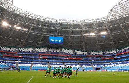 Soccer Football - World Cup - Australia Training - Samara Arena, Samara, Russia - June 20, 2018 General view during training REUTERS/David Gray