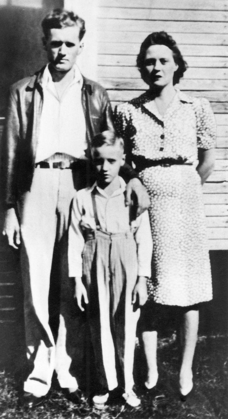 """<p>Presley's family attended the <a href=""""https://www.biography.com/musician/elvis-presley"""" rel=""""nofollow noopener"""" target=""""_blank"""" data-ylk=""""slk:Assembly of God Church"""" class=""""link rapid-noclick-resp"""">Assembly of God Church</a>, which is where he was introduced to Gospel music. At 11 years old, he received his first guitar for his birthday and began making music. Later in life, the singer <a href=""""https://www.biography.com/musician/elvis-presley"""" rel=""""nofollow noopener"""" target=""""_blank"""" data-ylk=""""slk:won three of his Grammys"""" class=""""link rapid-noclick-resp"""">won three of his Grammys</a> for Gospel tracks. </p>"""