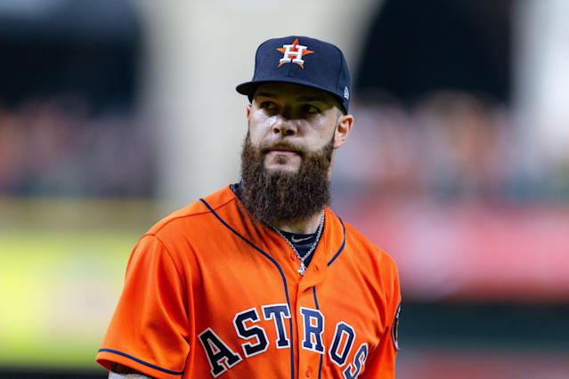 Starting pitcher Dallas Keuchel has agreed to a deal with the Atlanta Braves. (Getty Images)