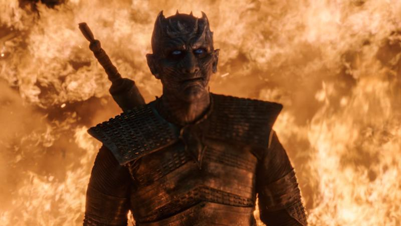 The Night King (Vladimir Furdik) walks in 'Game of Thrones' (Photo: HBO)