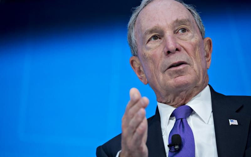 Former New York mayor and billionaire Michael Bloomberg  - Bloomberg