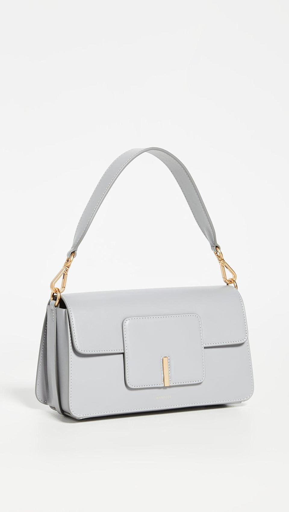 """<p><span>Wandler Georgia Bag</span> ($850)</p> <p>""""The Wandler Georgia Bag is at the top of my personal wish list this year. The cute shape, chic color, and versatile strap options make it the perfect everyday bag that's always easy to carry."""" - KJ </p>"""