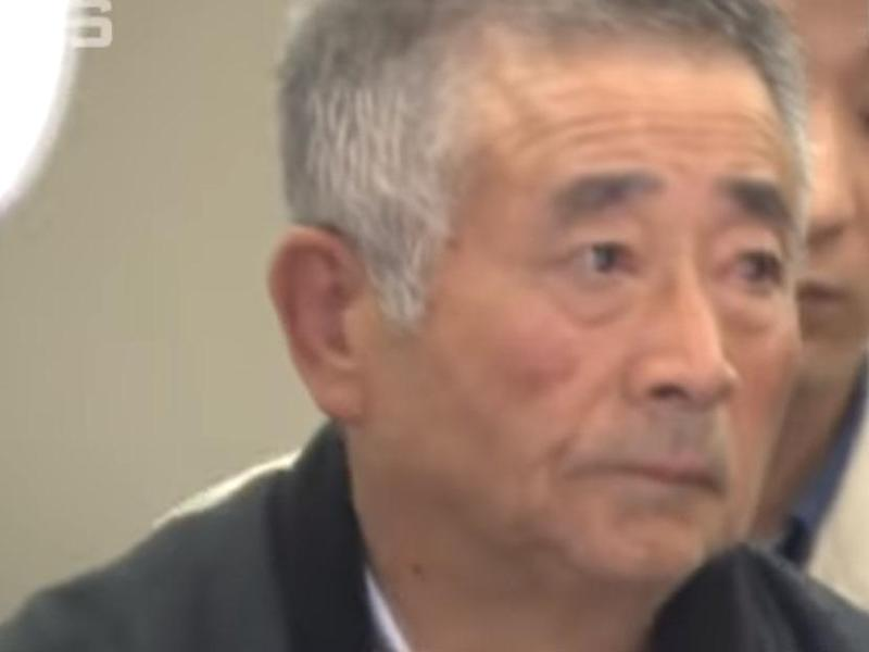 Akitoshi Okamoto, 71, has been arrested for making thousands of complaint calls to a phone company: ANNnewsCH