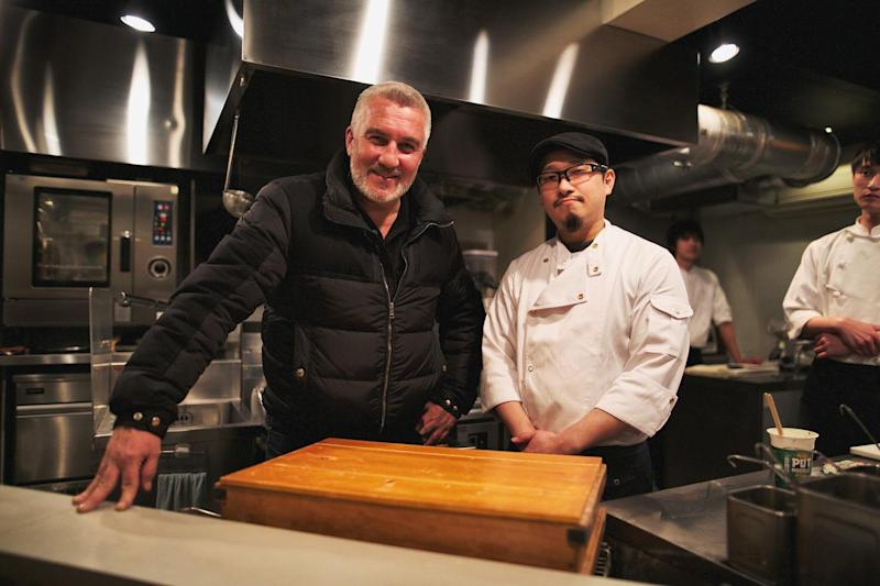 Paul Hollywood asked the chef at Michelin starred ramen restaurant Nakiryu to try a Pot Noodle. (Channel 4)
