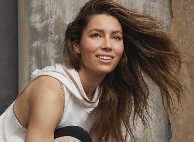 Jessica Biel poses for her latest campaign with Amazon. (Photo: Amazon)