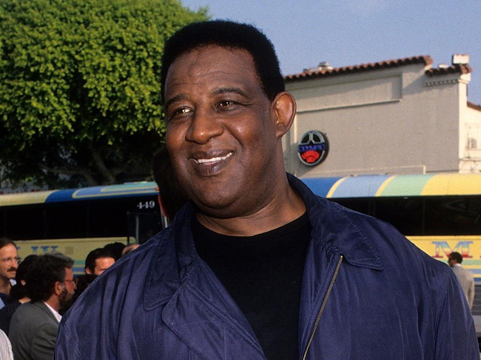 Frank McRae, photographed at the Westwood premiere of Last Action Hero in 1993 (Ron Galella Collection via Getty)