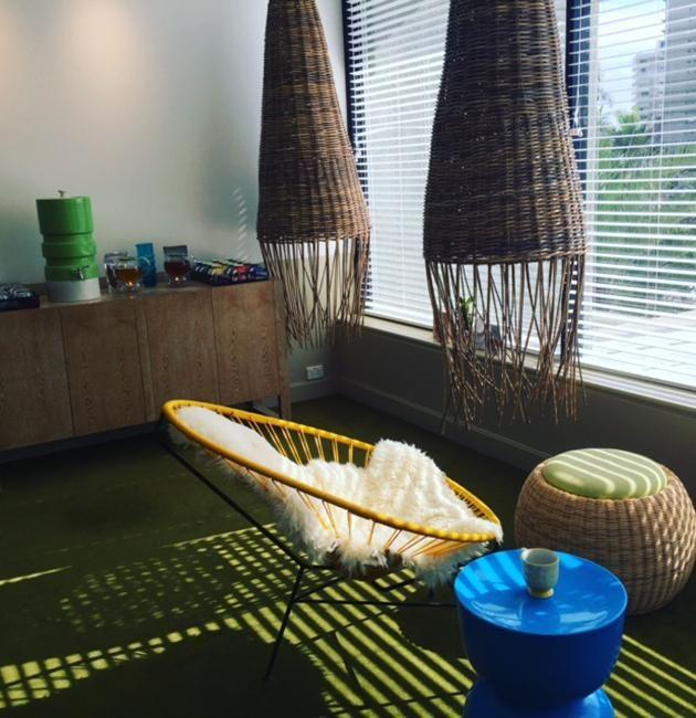 So tranquil. Relaxation room in the Spa Q. Photo: Jennifer Fletcher