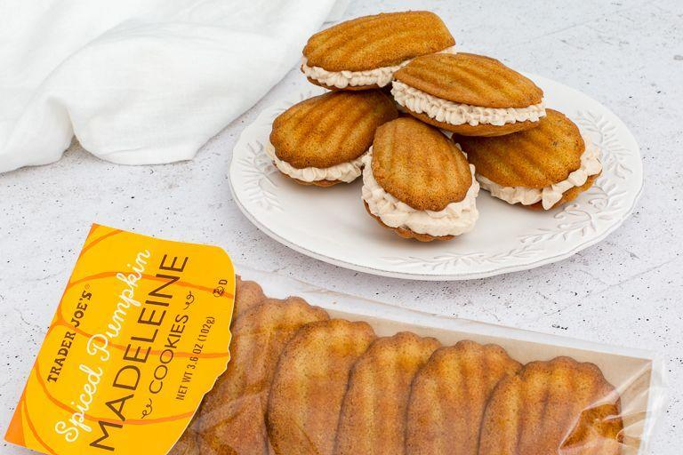 <p><strong>These soft cookies feature dried pumpkin flakes, cinnamon, ginger puree, and a slew of other seasonal spices for a cake-like treat. </strong>We love that they are baked in scalloped molds for a fancy shell shape. </p>