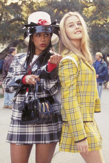 """<div class=""""caption-credit""""> Photo by: Paramount/Courtesy Everett Collection</div><div class=""""caption-title"""">Alicia Silverstone and Stacey Dash</div><b>1995</b> <br> <br> Alicia Silverstone and Stacey Dash as Cher and Dionne in <i>Clueless</i> secured a plaid mini phenom. <br> <br> <a rel=""""nofollow"""" href=""""http://www.harpersbazaar.com/beauty/makeup-articles/quick-beauty-tips-0211?link=emb&dom=yah_life&src=syn&con=blog_blog_hbz&mag=har"""" target=""""_blank"""">READ MORE: 5 Minute Beauty Fixes</a>"""