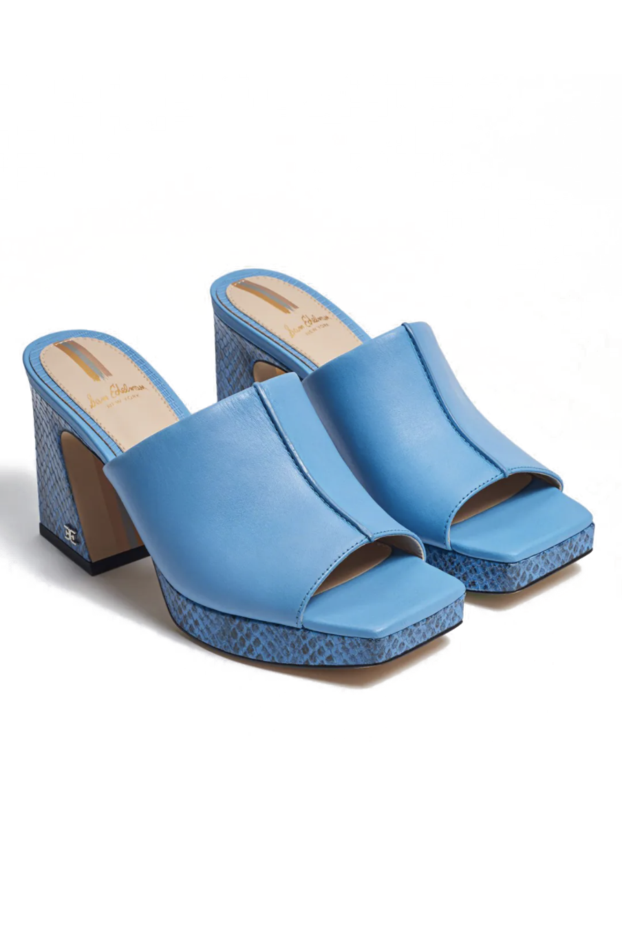 """<p><strong>Sam Edelman</strong></p><p>samedelman.com</p><p><strong>$150.00</strong></p><p><a href=""""https://go.redirectingat.com?id=74968X1596630&url=https%3A%2F%2Fwww.samedelman.com%2Fproduct%2Fwomens-wilton-block-heel-mule-3021509%2Ftrue-blue-leather-ec0209745&sref=https%3A%2F%2Fwww.marieclaire.com%2Ffashion%2Fg27205502%2Fcomfortable-walking-sandals-women%2F"""" rel=""""nofollow noopener"""" target=""""_blank"""" data-ylk=""""slk:SHOP IT"""" class=""""link rapid-noclick-resp"""">SHOP IT</a></p><p>Had enough of your basic black and white sandals? Then why not give this pair of mules from Sam Edelman a spin? Yes, the heel is a little high, but the slight platform and wide strap make walking around a breeze. </p>"""