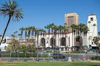 Much of the Oscars will take place at Union Station in Los Angeles -- a new home for Hollywood's biggest night