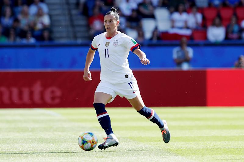 Veteran USWNT defender Ali Krieger praises Vlatko Andonovski's practice sessions. (Photo by Eric Verhoeven/Soccrates/Getty Images)