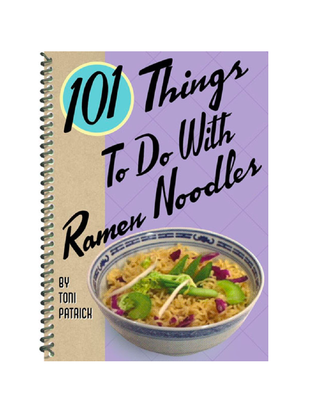 "The college freshman on your list might actually bring a vegetable into their dorm room, thanks to this cookbook featuring imaginative ways to prepare and spruce up ramen noodles. $10, Amazon. <a href=""https://www.amazon.com/101-Things-Ramen-Noodles-recipes/dp/1586857355"" rel=""nofollow noopener"" target=""_blank"" data-ylk=""slk:Get it now!"" class=""link rapid-noclick-resp"">Get it now!</a>"