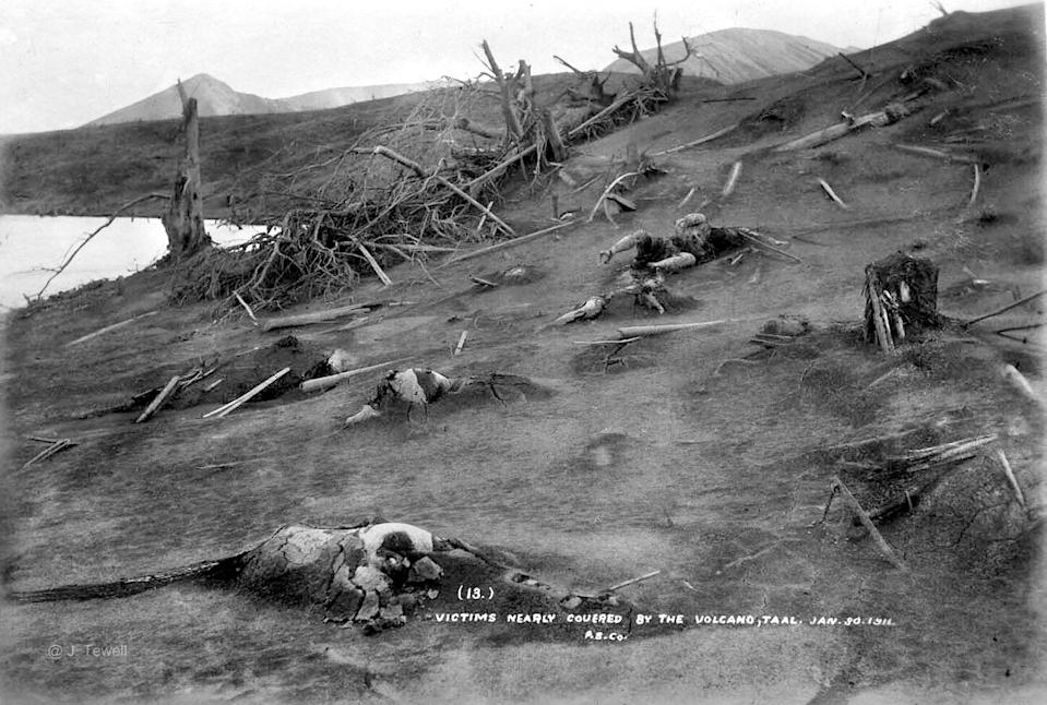 All seven barangays on Taal Volcano Island were obliterated during the eruption, killing everyone on the island.