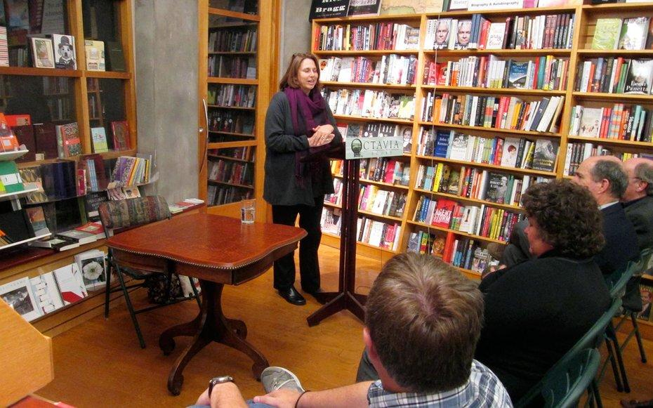 """<p>Voted Best Locally Owned Bookstore in New Orleans the last three years running by <em>Gambit, </em>the citys alternative weekly, <a rel=""""nofollow"""" href=""""http://www.octaviabooks.com/"""">Octavia Books </a>in uptown NOLA opened in 2000 and never looked back. Drawn into the store by the offbeat architecture  the building once housed a grocery and a stable for the Laurel Streetcar line  customers stay for the broad array of titles, the emphasis on local authors and of course, the in-house pooch, Pippin. Octavia is the beating heart of the NOLA writing community, says author Taylor Brown, who gave a reading from his first novel, Fallen Land, in the shop, a must-visit for anyone who loves good people and books.</p>"""