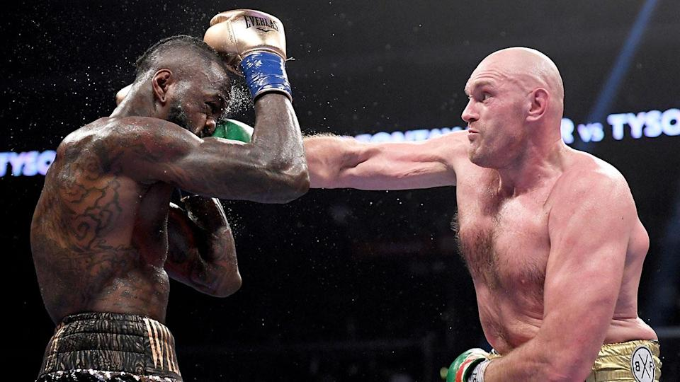 Many good judge's thought Fury did enough to win. Pic: Getty