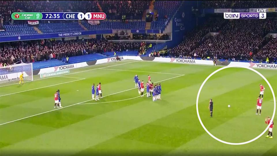 Marcus Rashford's free kick against Chelsea was arguably the best goal of his career.