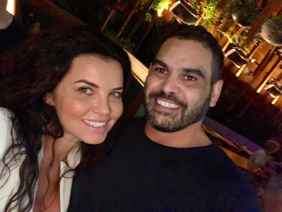 Suzi Taylor has revealed what happened when retired NRL star Greg Inglis 'went missing' earlier this month and spent a weekend with her