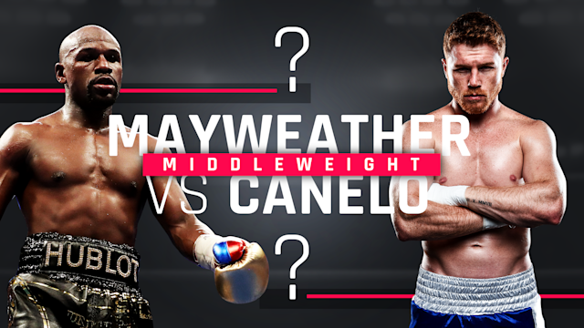 Sporting News looks at a Canelo-Mayweather rematch at middleweight from a mythical matchup perspective.